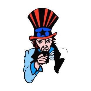 310x310 United States Abraham Lincoln I Want You Logo Symbols And History
