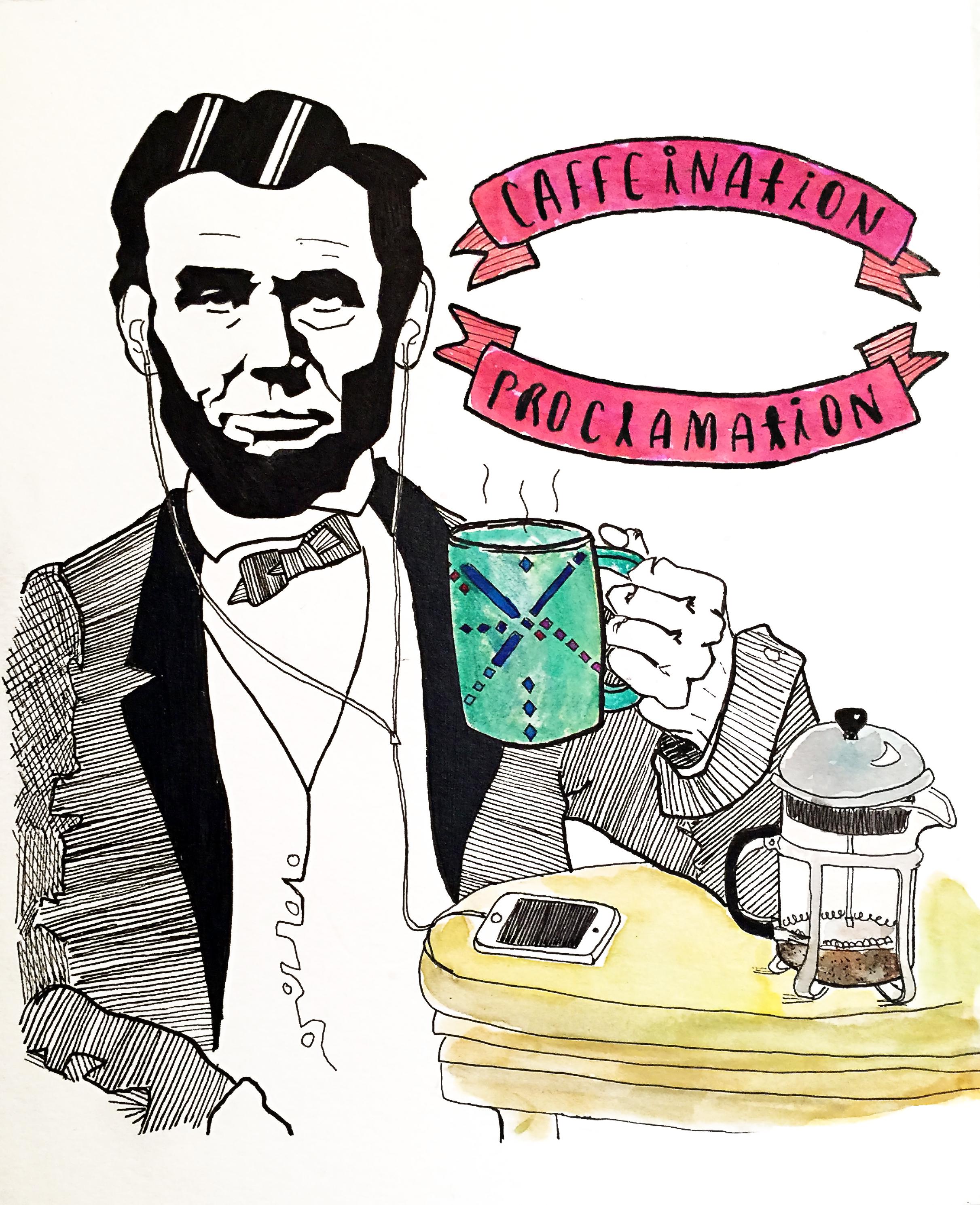 2423x2977 Abraham Lincoln Art + Simplicity