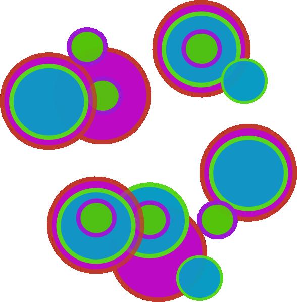 588x597 Pretty Abstract Circles Clip Art