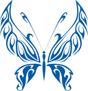 Abstract Butterfly Clipart