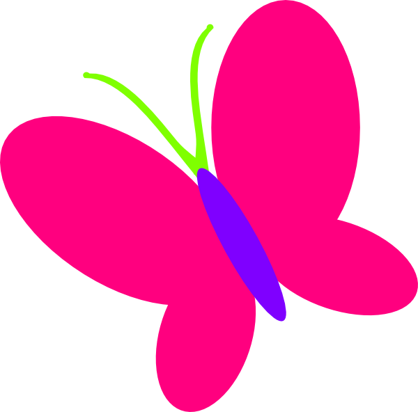 600x592 Butterfly Clip Art