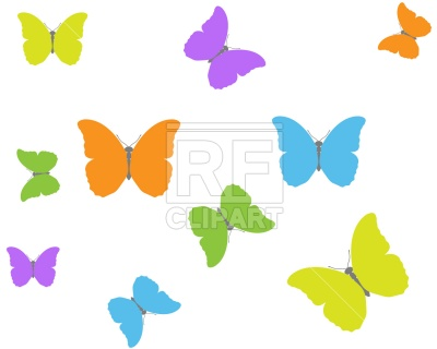 400x320 Butterfly Background Vector Image Vector Artwork Of Backgrounds