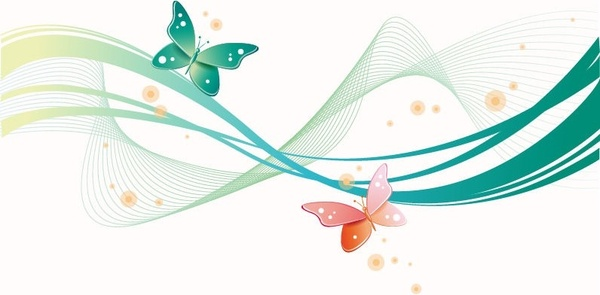 600x295 Butterfly Free Vector Download (2,008 Free Vector) For Commercial