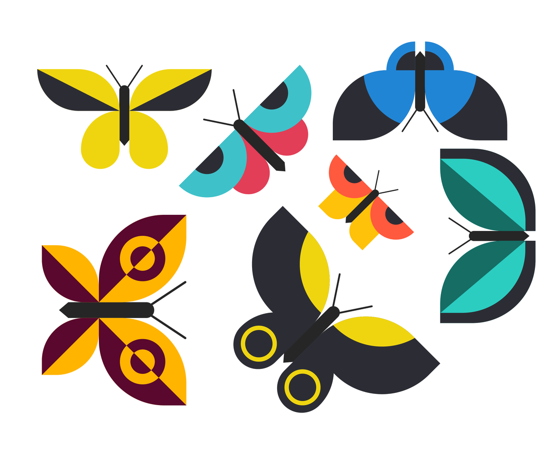 1136x936 Free Butterfly Clip Art Vector Vector Art Amp Graphics