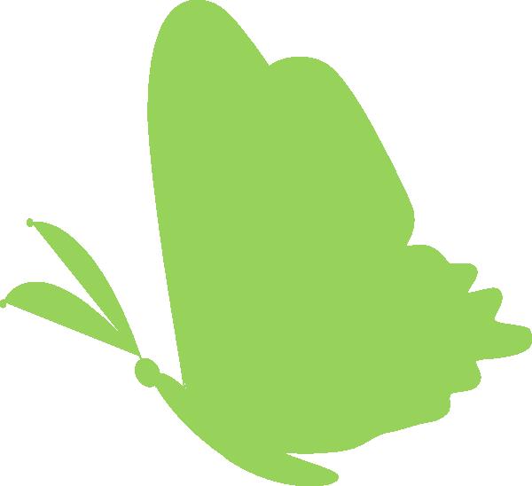 600x548 Green.butterfly Clip Art
