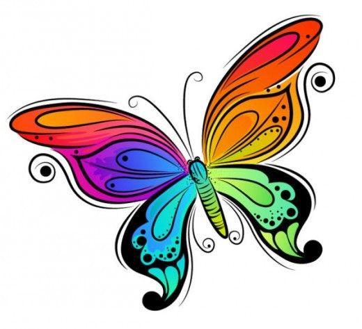 520x473 613 Best Clip Art Butterfly! Images On Butterflies