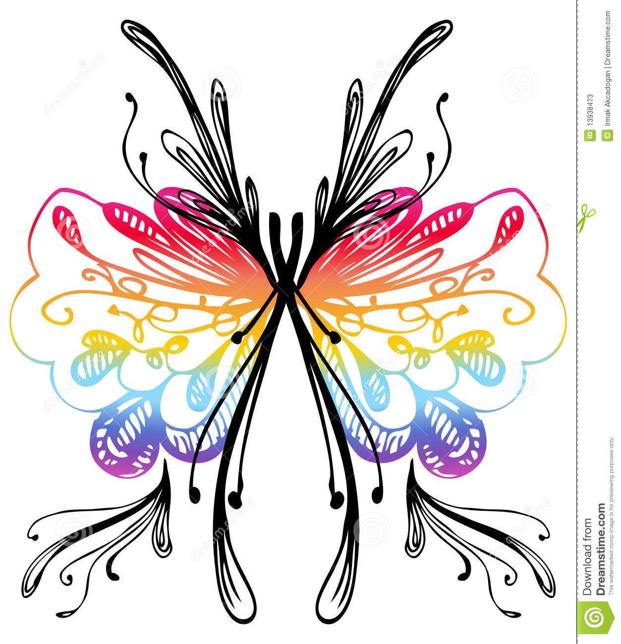 1253x1300 Butterfly Drawings