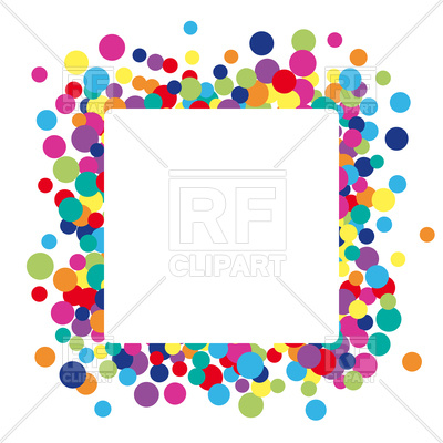 400x400 Colorful Abstract Dot Background Royalty Free Vector Clip Art
