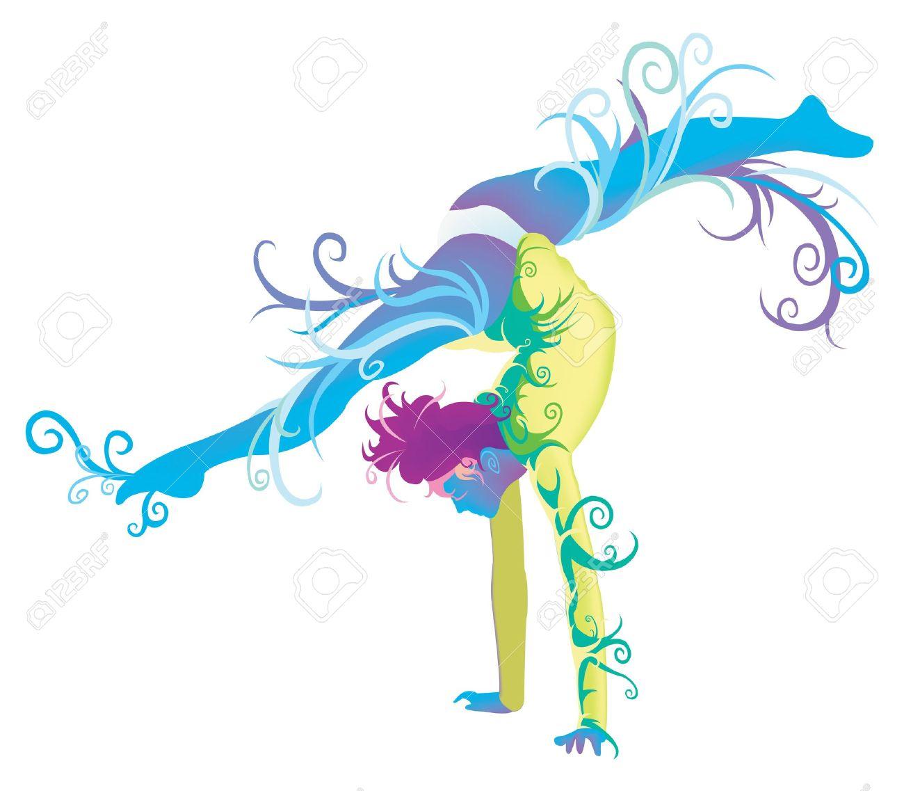 1300x1137 Top 87 Gymnastics Clip Art