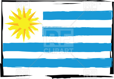 400x276 Abstract Uruguay Flag Or Banner Vector Illustration Royalty Free