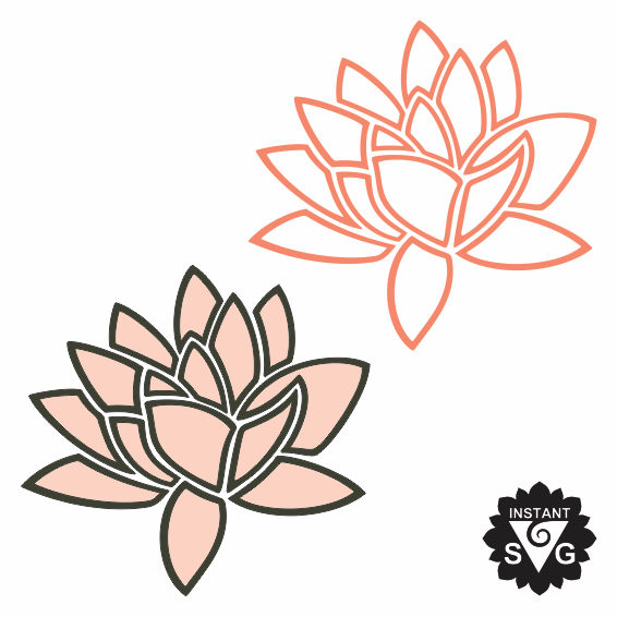 566x566 Lotus Clipart Abstract