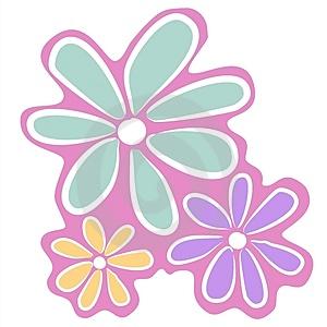 300x300 Pink Flower Clip Art Clipart Panda