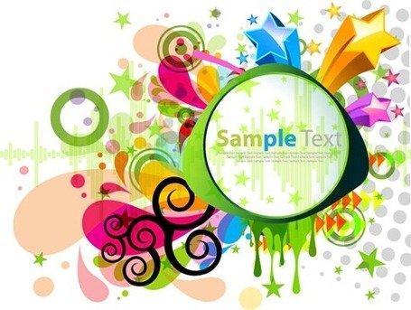 455x343 Abstract Design Clip Art