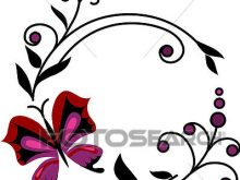 220x165 Abstract Flower Clipart Clip Art Of Red Abstract Flowers