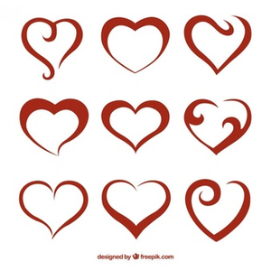 Abstract Heart Clipart at GetDrawings com | Free for