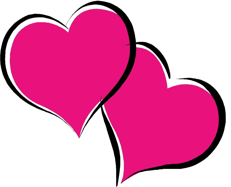1227x992 Pink Valentines Hearts