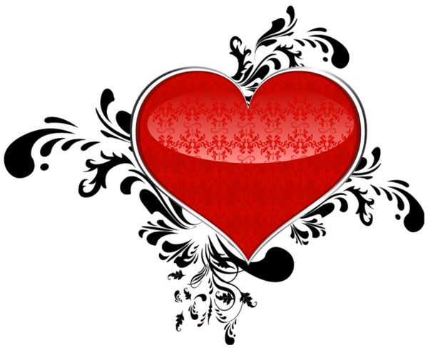 600x487 9 Best Heart Clipart Images On Valantine Day