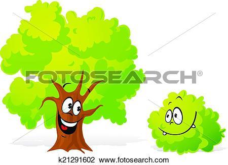 450x327 Bush Clipart Tree