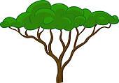 170x119 Safari Tree Clipart