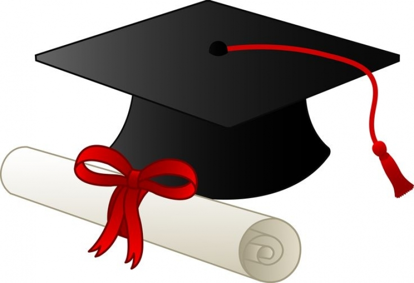 820x560 Cap Clipart High School Pencil And In Color Clip Art Graduation