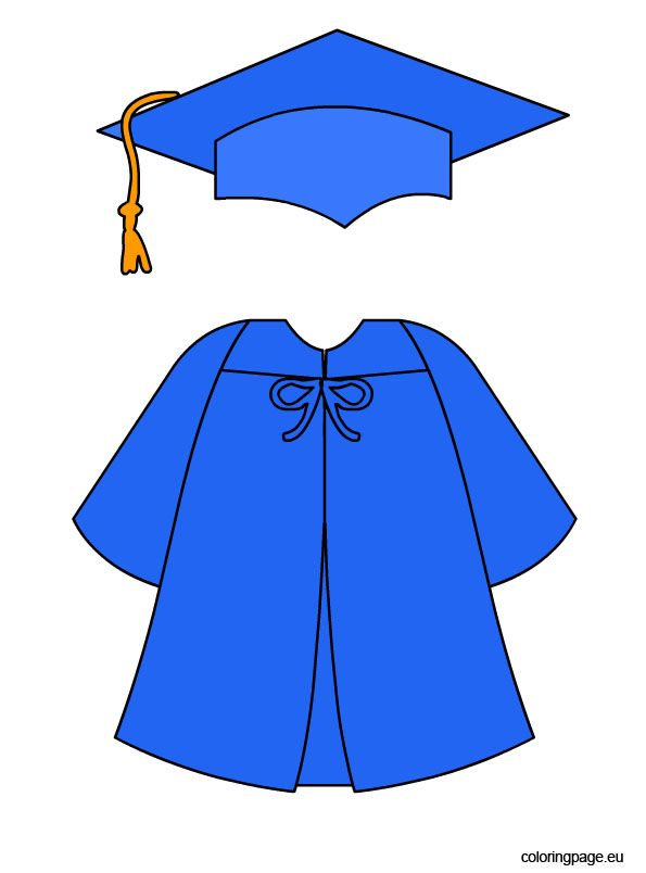 595x804 Graduation Cap And Gown Clipart Clipartlook