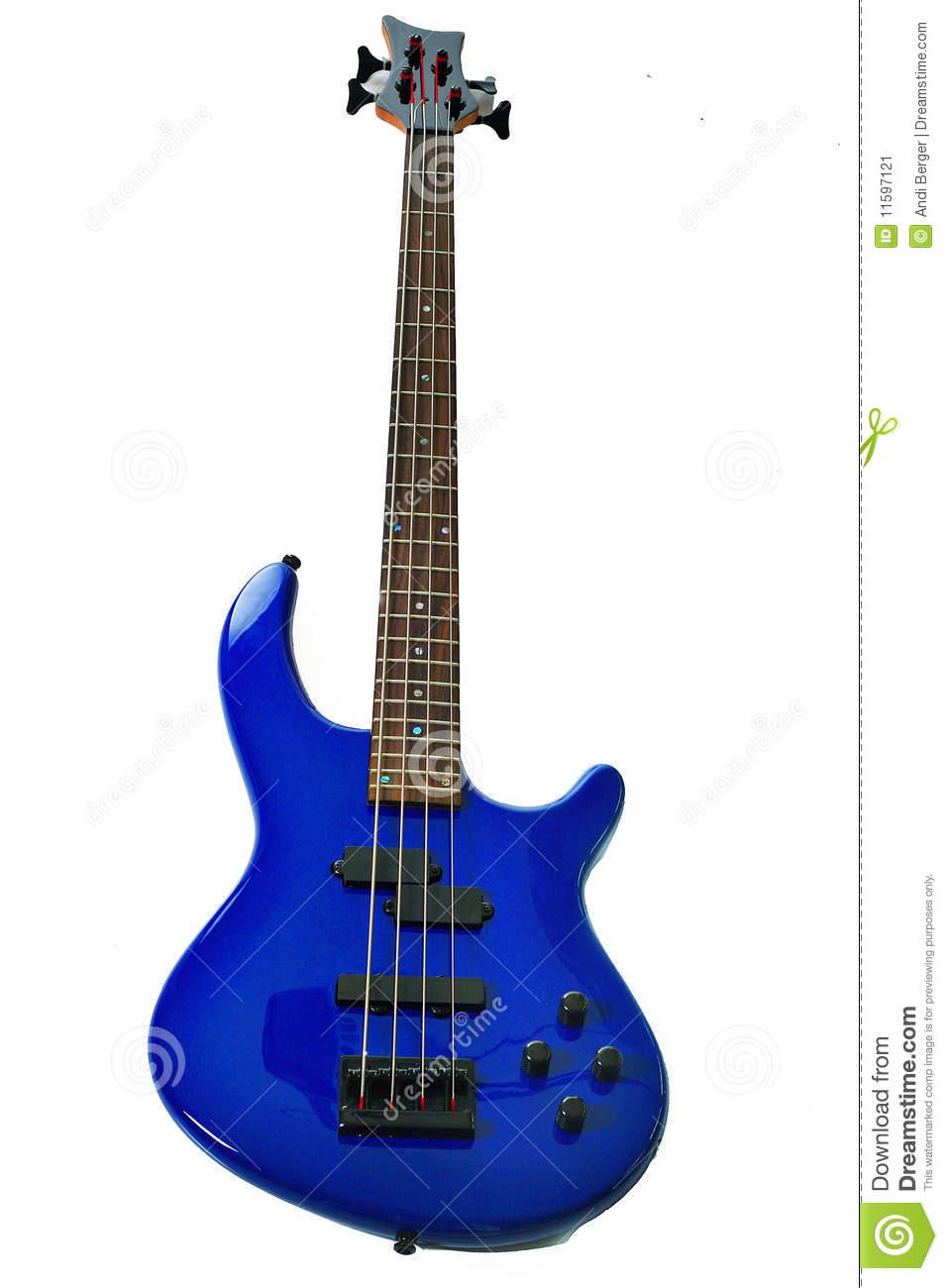 957x1300 Blue Guitar Clipart