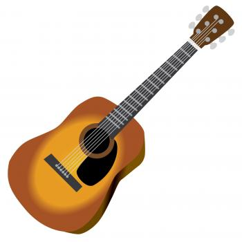 350x350 Homely Ideas Acoustic Guitar Clipart Free Clip Art Lovetoknow