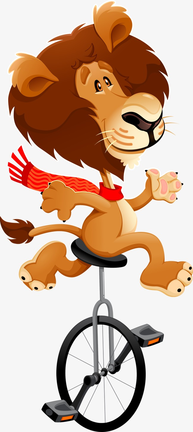 650x1451 Acrobat Animal, Lion, Cyclist, Acrobatic Png Image And Clipart