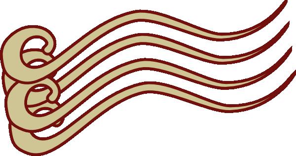 600x316 Color Action Lines Clip Art
