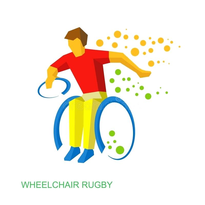 800x800 Disability Clip Art Download Physically Disabled Rugby Player
