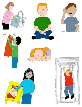 268x350 Kids In Action School Days 2 Clip Art! 24 Pngs For Schedules