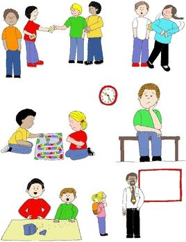 268x350 Kids In Action Social Skills And Pragmatic Language Visuals 2