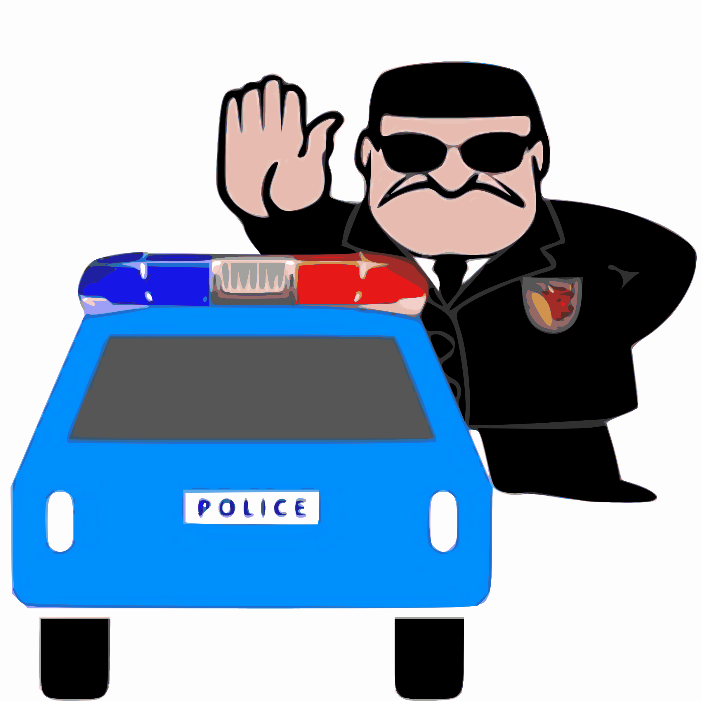 2400x2400 Police Discipline Branch In Action Icons Png
