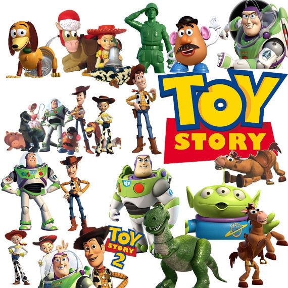 570x570 45 Toy Story Clipart Cartoon Clip Art Printable Digital Clipart