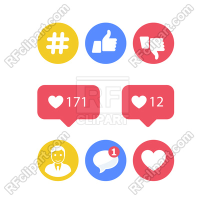 400x400 Smm And Social Activity Icons