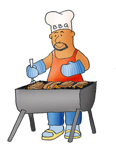 400x525 Barbecue Clipart Family Activity