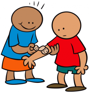 291x300 Collection Of Children Showing Kindness Clipart High Quality