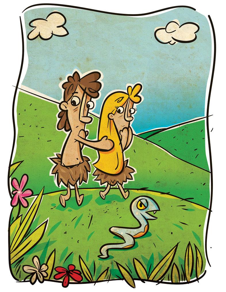 786x1017 Adam And Eve By Pocza