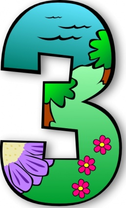 258x425 Free Download Of Creation Days Numbers Clip Art Vector Graphic