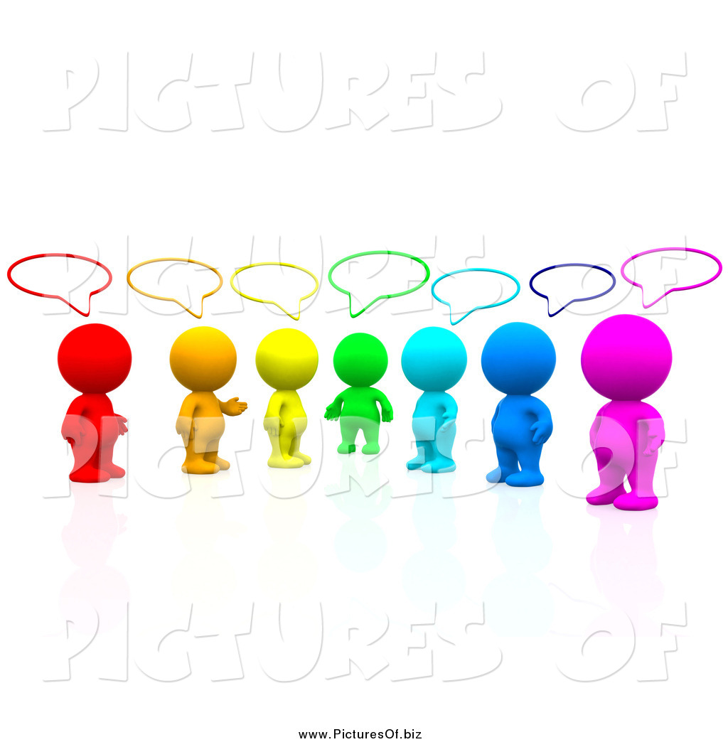 1024x1044 Fantastic People Talking Clip Art Clipart Of A 3d Colorful