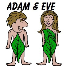 215x215 Adam And Eve Clipart