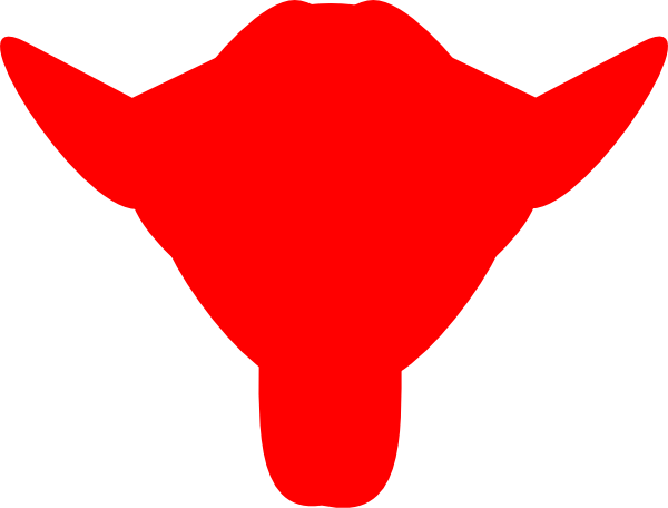 600x456 Bull Clip Art