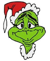 204x247 Grinch Wreath Free Christmas Clip Art From The Public Domain