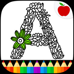 246x246 Adult Coloring Books Alphabet On The App Store