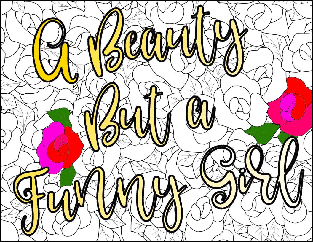 1056x816 Beauty And The Beast Adult Coloring Pages