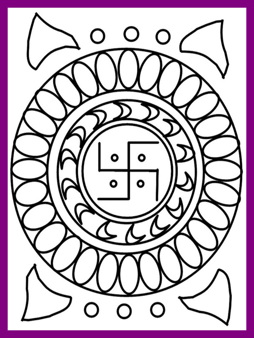 867x1152 Stunning Diwali Festival Coloring Pages Pics Of For Kids Trends