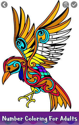325x512 Tattoo Color By Number Adult Coloring Book Pages 1.0 Apk
