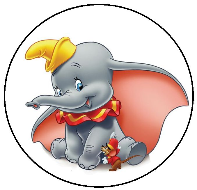 677x653 Dumbo Clip Art 105 Best Dumbo Printables Images