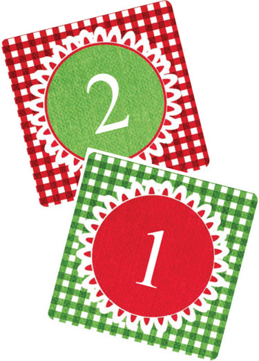 375x522 Christmas Numbers Clipart Free Collection