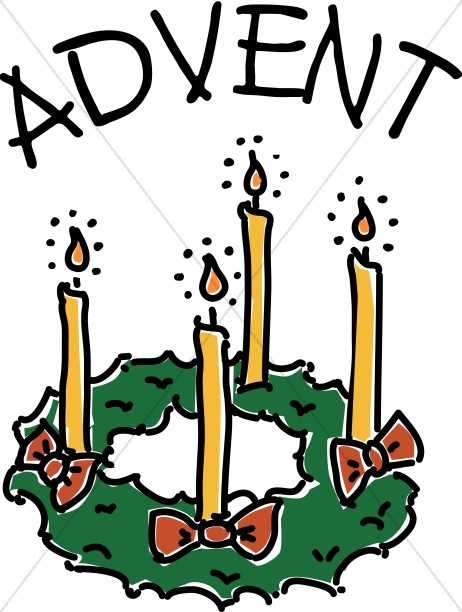 462x612 Advent Candle Wreath Clipart Advent Clipart